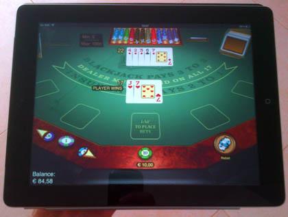 Real gambling on ipad